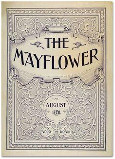masthead from The Mayflower magazine