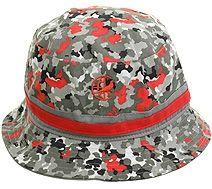 Staple Pigeon Camo Bucket Hat - Gray