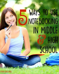 A glimpse at how we use NotebookingPages for different subjects in middle and high school.