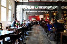 Speicherstadt Kaffeeroesterei good coffee, nice cafe in HafenCity Hamburg.