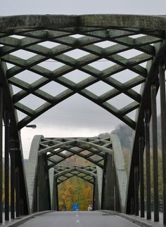 under the bridge, a photo from Liege, Wallonia |