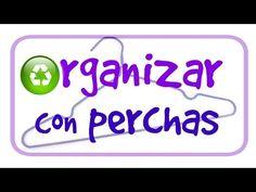 Trucos para organizar con perchas. Tricks to organize hangers. - YouTube