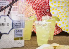 Are you ready to fiesta like there's no mañana? We've got you covered with our Luxe cups that compliment your margaritas perfectly with no need to worry about clean up! Happy Cinco!