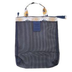 Women Men Travel Wash Mesh Handbag Summer Beach Handbags Totes Bathing Storage Hot Spring Bags Bolsa Feminina EJ878866