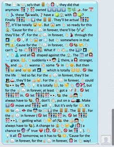 """For the First Time In Forever: Your Favorite Disney's """"Frozen"""" Lyrics Reenacted In Emojis"""