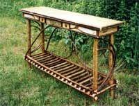 Rustic Sofa Table, Rustic Furniture