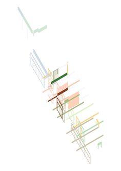 Famous ARCHITECTEN DE VYLDER VINCK TAILLIEU Conceptual Architecture, Architecture Graphics, Architecture Drawings, Architecture Design, Collage Drawing, Planer, Presentation, How To Plan, Architectural Models