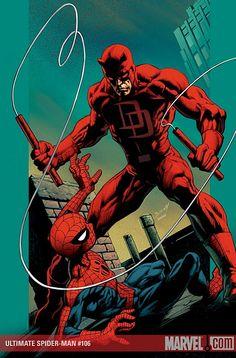 Ultimate Spidey 106 + Daredevil