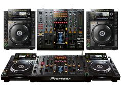 The best dj console