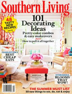 Pungo was featured in the Southern Living magazine