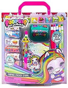 Poopsie Stationery Sticker Studio by Horizon Group USA Barbie Camper, Barbie Toys, Cute Birthday Gift, Birthday List, Cotton Candy Cakes, Slime Kit, Rainbow Outfit, Unicorn Stickers, Baby Alive