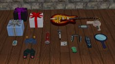 Decat's Sims 2 Creations: Extracted Clutter