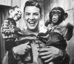 Zippy was a live chimp from the Howdy Doody Show.