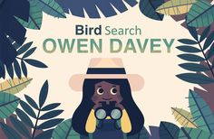 Bird Search - Owen Davey Illustration