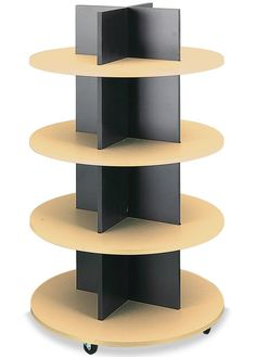 Store supplies to meet all your retail store needs. We've been providing quality products around the world for decades. The 4 tiers stand 54 high x 24 diameter Maple / Black Pet Store Display, Store Displays, Pharmacy Design, Retail Design, Wood Display, Retail Shelving, Shop Fittings, Store Interiors, Shelf Design