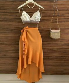Cute Swag Outfits, Skirt Outfits, Pretty Outfits, Pretty Dresses, Stylish Outfits, Beautiful Dresses, Teen Fashion Outfits, 70s Fashion, Skirt Fashion