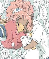 Image result for inazuma eleven nathan and lili