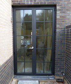 Patio : Cost To Replace A Sliding Glass Door Cheap Sliding Glass Doors Black French Doors Pella Patio Door steel french patio doors Patio Doors And Windows' Exterior Patio Sliding Doors' Sliding Door Patio along with Patios Interior Barn Doors, Aluminium French Doors, House Exterior, French Doors Exterior, Crittal Doors, Doors Interior, Exterior Doors, Garden Doors, Exterior