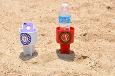 Beach spiker.  Personalize it and use to keep your drink or your phone away from the sand.  Great for the beach vacation this summer!