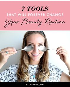 If your beauty routine is getting a little too, well, routine, we have a few fun ways to shake things up. Change the way you apply your makeup-- or take it off-- with these 7 tools!