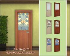 Sims 4 Updates: Sims by Mulena - Build / Walls / Floors : Romus Interior doors, Custom Content Download!