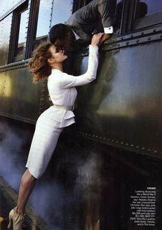 Annie Leibovitz - Trains and Romance