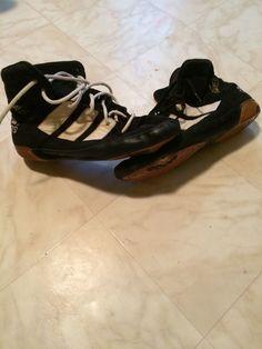16372a91b7a7 RARE Adidas ADISTAR Kendall Cross OG Wrestling Shoes Size 11