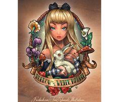 Rockabilly Alice au pays des merveilles