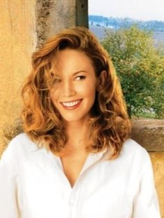 "Diane Lane on the movie poster for 2003's ""Under the Tuscan Sun""."
