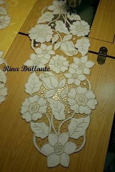 Ivory Organza Lace Fabric with Embroidered Rose, retro embroidered lace fabric by the yard Embroidered Lace Fabric, Cutwork Embroidery, White Embroidery, Hand Embroidery Designs, Embroidery Stitches, Embroidery Patterns, Hobbies And Crafts, Diy And Crafts, Crazy Quilting