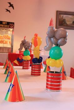 Circus Birthday Party Ideas | Photo 32 of 32 | Catch My Party