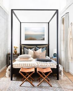 The Penny Canopy Bed at our Calabasas Shoppe ✨ Come say hi! Dream Bedroom Bedroom Ideas Home Canopy Bed Classic Bedroom Modern Bedroom Dream Bedroom, Home Decor Bedroom, Bedroom Furniture, Bedroom Ideas, Bedroom Modern, Bed Ideas, Tiny Master Bedroom, Modern Canopy Bed, Bedroom Romantic