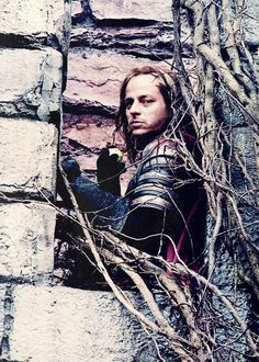 Tom Wlaschiha portraying Jaqen H'ghar on the Season 2 set of Game Of Thrones (2011)