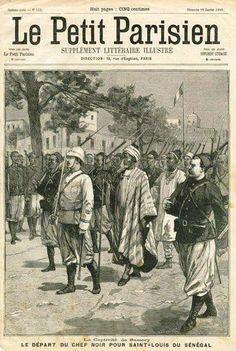 Samory Touré capturé par les français