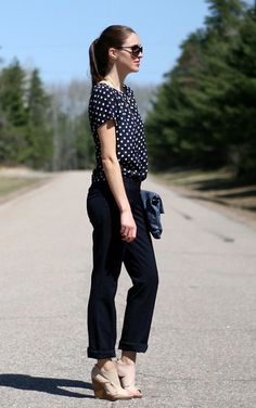Navy on navy (by Laura @ Laura Wears .)