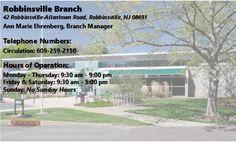 Robbinsville Branch - 42 Robbinsville-Allentown Rd, Robbinsville, NJ 08691