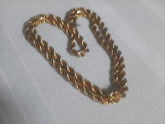 Monet Vintage Rope Chain Necklace double by TraysVintageTreats
