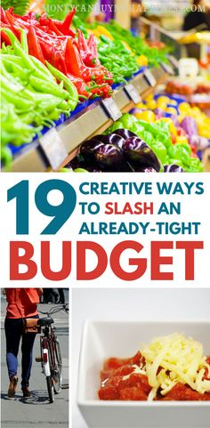 Tight budget? Don't know how you can possible squeeze another dollar? This list of creative ways to save on your essential expenses is just what you need to help you save money and tighten that budget even further.