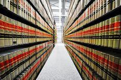 UW Law School's law library
