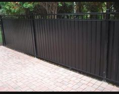 Wrought Iron Fence Privacy Panels Backyard Iron Fence