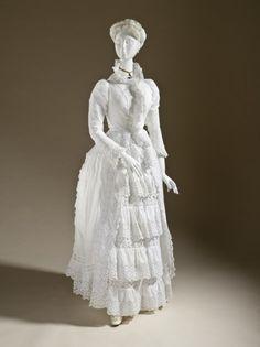 Moda Victoriana: El Polison.(1870- 1890) 1885