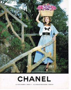 Publicite Advertising 074 1992 Chanel Haute Couture Claudia Schiffer 92 | eBay