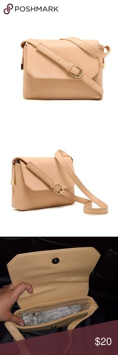 cb8180b245d Beige should purse. NEW Brand new nude/beige purse. Long shoulder strap.