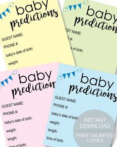 Looking For A Popular Baby Shower Game That Everyone Will Love? These Baby  Shower Trivia