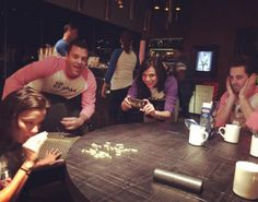 Lana Parrilla and friends