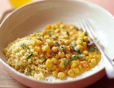 Butternut Squash and Chickpea Stew with Couscous