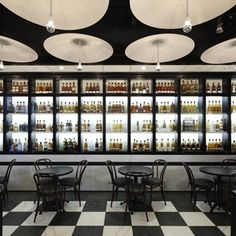 """North End Grill - Danny Meyer's latest in Battery Park City.  My favorite part: the """"plank"""" of three single malt scotches.  Also the scotch flavored marshmallow at dessert."""