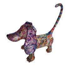another dog Dachshund Breed, Dachshund Art, Dachshunds, Paper Mache Sculpture, Dog Sculpture, Paper Clay, Paper Art, Paper Mache Projects, Pointer Dog