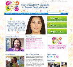 Another non-profit we loved creating a website for.  We are most proud of the bells and whistles with Drupal while making a great UI experience for the user: Pearl of Wisdom Campaign to Prevent Cervical Cancer (pearlofwisdom.us)