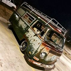 70 early bay tin top campervan